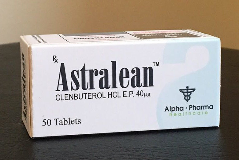 Alpha pharma clenbuterol
