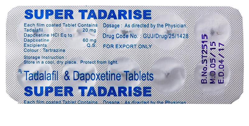 Tadalafil, Cialis with Dapoxetine